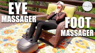 At Home Foot Massager & Eye Massager | Renpho Review