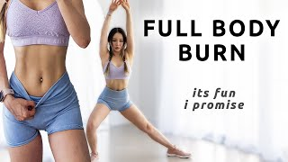 Full Body Workout   No Equipment At Home & Effective