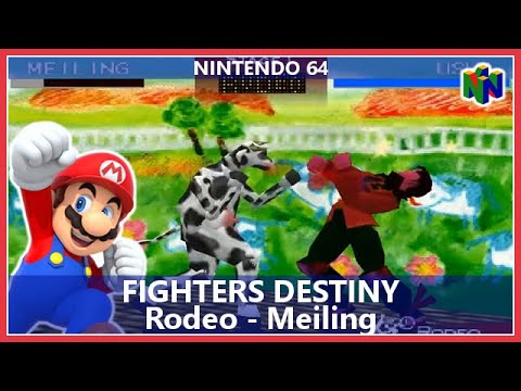 Fighters Destiny Rodeo Meiling Nintendo 64 Youtube