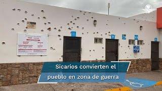 Todo pasó cuando se realizaba la misa de las 18:00 horas del sábado 24 y los sicarios tomaron el municipio como zona de guerra