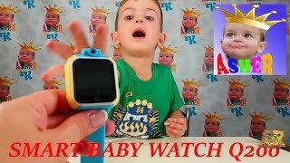 smart Baby Watch Q200 Как настроить умные часы Обзор Установка seTracker Детские умные часы