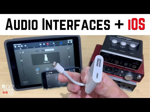How To Connect A USB Audio Interface To An IPad/iPhone