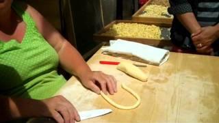 Chef Monica Pope - Bari, Italy - Handmade Orecchiette Pasta