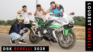 LOUDEST BENELLI 302R || REVIEW || MODIFICATION || FLY BY IXLL EXHAUST || TOP SPEED