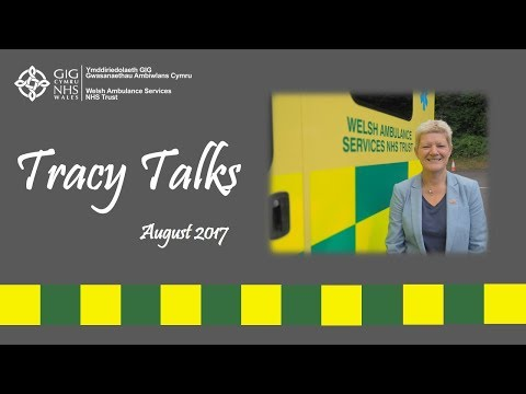 Tracy Talks August 2017