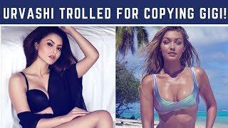 "Urvashi Rautela trolled for ""plagiarising"" Gigi Hadid's post slamming the media"