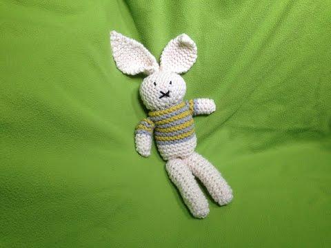 How to Loom Knit a Stuffed Bunny Toy (DIY Tutorial)