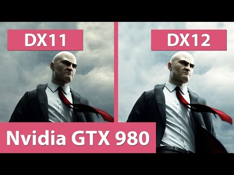 Hitman – DX11 vs. DX12 @ GTX 980 Benchmark & Graphics Comparison