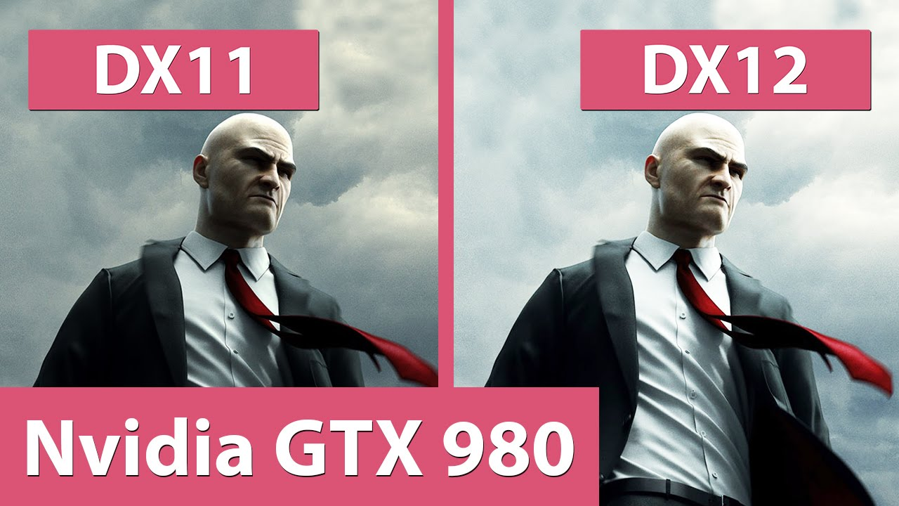 Hitman – DX11 vs  DX12 @ GTX 980 Benchmark & Graphics Comparison