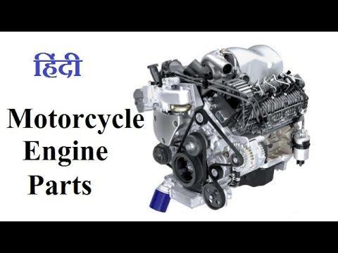 Parts Of Motorcycle Engine In Hindi Motor Bike क इ जन भ ग ज न ह द म