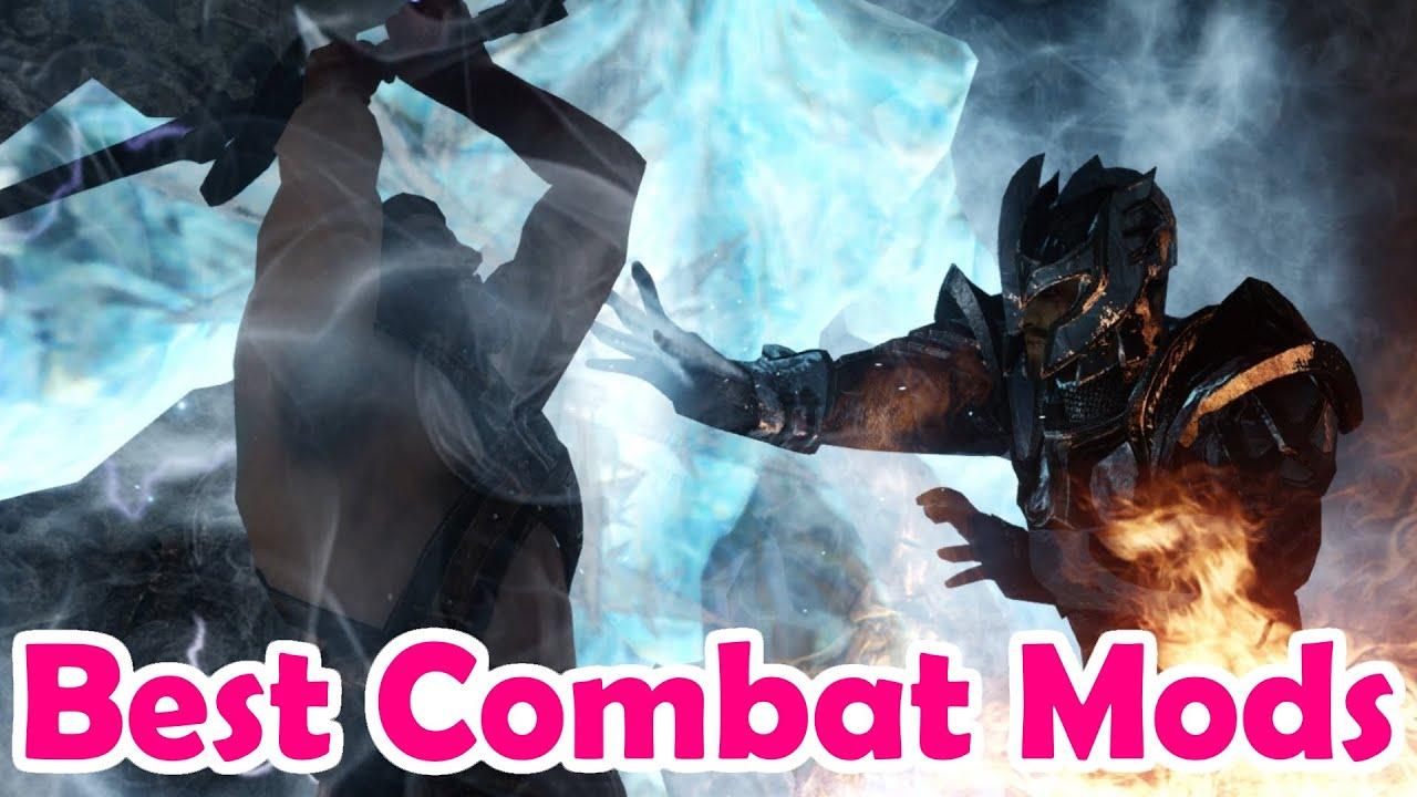 Скачать мод Deadly Combat для Skyrim