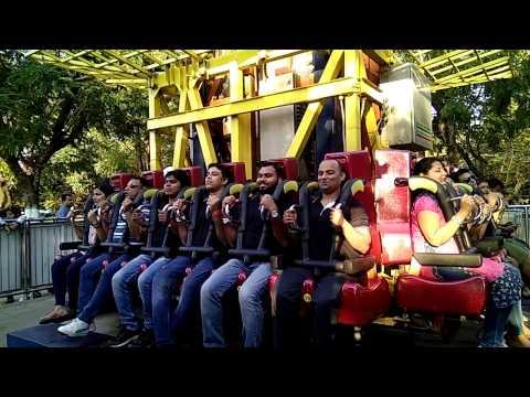 Shoot and drop ride in Essel world Mumbai