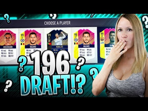 196 RATED HIGHEST RATED FUT DRAFT CHALLENGE! FIFA 18