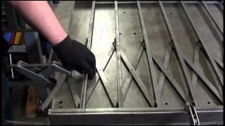 Сварочный Стол сварка перила заборы фабрикация 1.2(Пару лет назад варили перила для балконов погонных метров сорок. И мне подсказали идею сделать