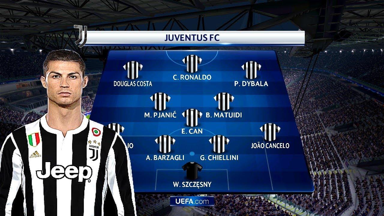 juventus lineup with ronaldo juventus vs barcelona gameplay youtube juventus lineup with ronaldo juventus vs barcelona gameplay