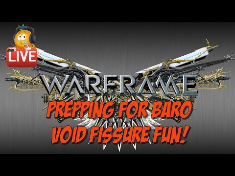 Warframe Live - Cracking Open Relics!