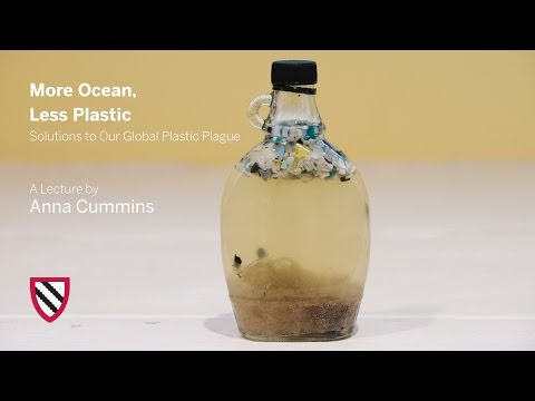 Anna Cummins | More Ocean, Less Plastic || Radcliffe Institu