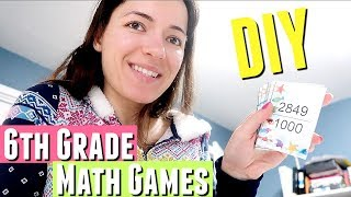 Making 6th Grade Math Games For The Kids For Fractions And Decimals