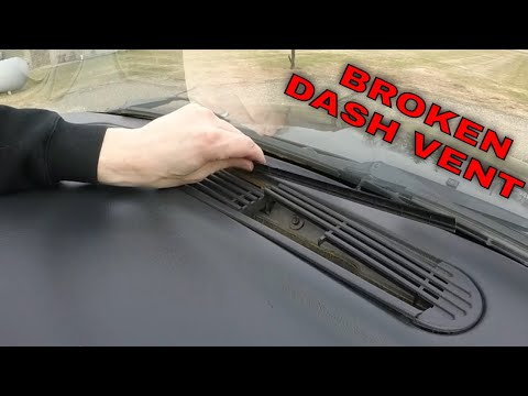CHEVY S-10 XTREME DASH/DEFROST VENT COVER REPLACEMENT