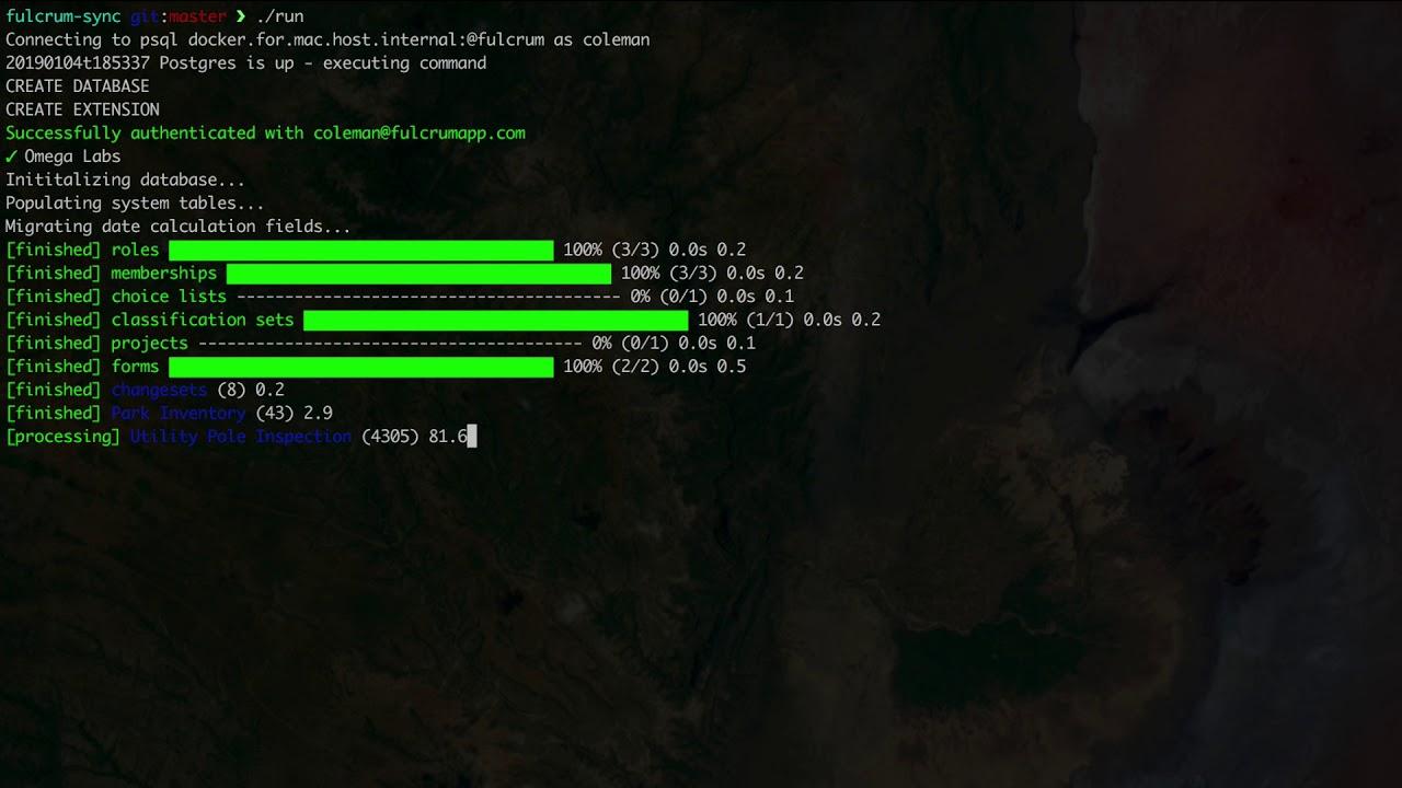 Fulcrum Desktop with Docker