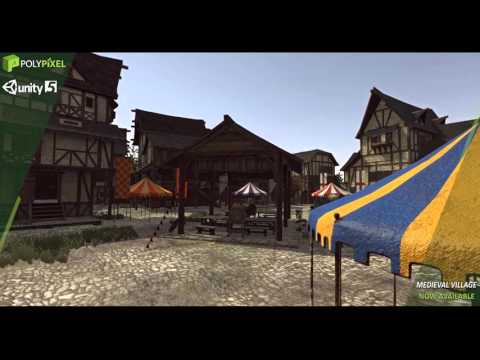 Medieval Village - Unity Asset Store
