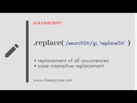 JavaScript String Replace | Case Insensitive