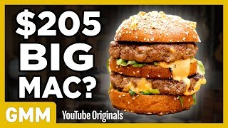$205 Big Mac Taste Test | FANCY FAST FOOD
