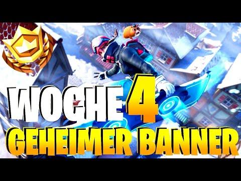 GEHEIMER STERN BANNER WOCHE 4 SEASON 7 Fortnite Ladebildschirm  YouTube