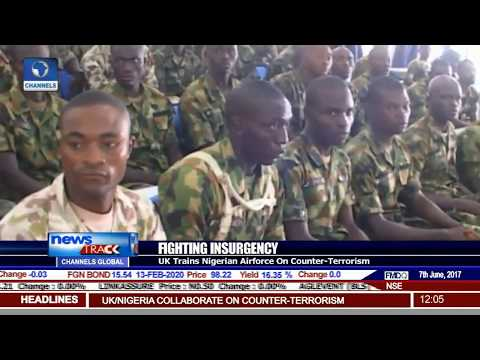 UK Trains Nigerian Airforce On Counter-Terrorism
