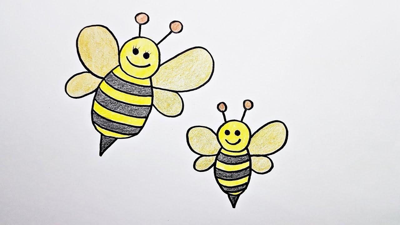 Catatanku Anak Desa Gambar Mewarnai Lebah Madu