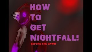 Roblox Before The Dawn Redux Project 0011 Nightfall Gameplay - How To Get Nightfall Before The Dawn Tutorial By Rrdino
