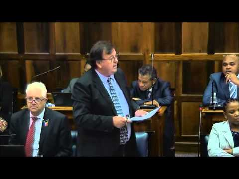 Western Cape Appropriation Bill Vote 10: Transport and Public Works 30 March 2016