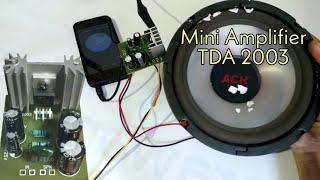 mini Amplifier TDA 2003