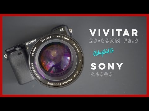 Vivitar 28-85mm F2.8-f3.8 Variable Focusing Zoom Lens Adapted To The Sony A6000