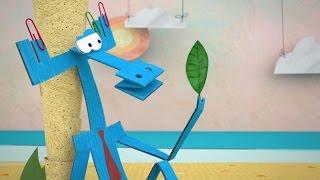 Бумажки -  SOS! - Новые российские мультфильмы для детей и взрослых  - Мультик оригами - Серия 77