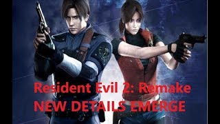 (Updated) NEW Resident Evil 2 Remake Info Emerges!