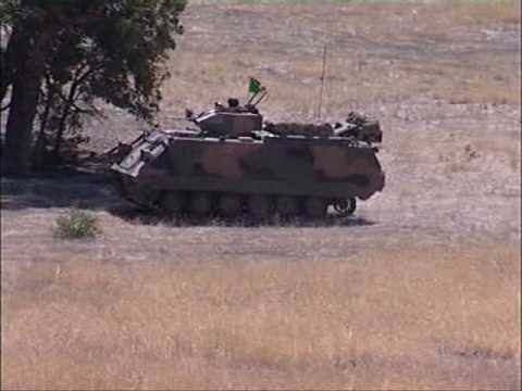 the aust m113 apc last days