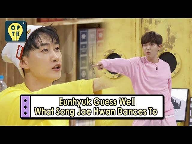 [Oppa Thinking - Wanna One] Eunhyuk Guesses Well The Song Jae Hwan Dances To, 오빠 생각20170911