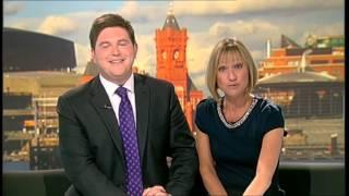 ITV Wales News - Culverhouse Cross studio