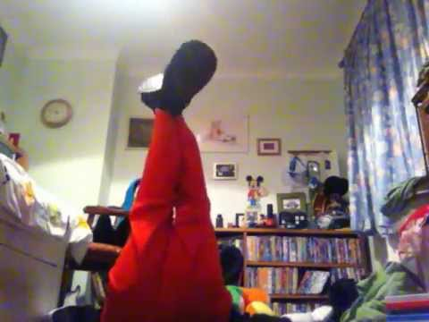 messing about in my mickey mouse mascot costume youtube. Black Bedroom Furniture Sets. Home Design Ideas