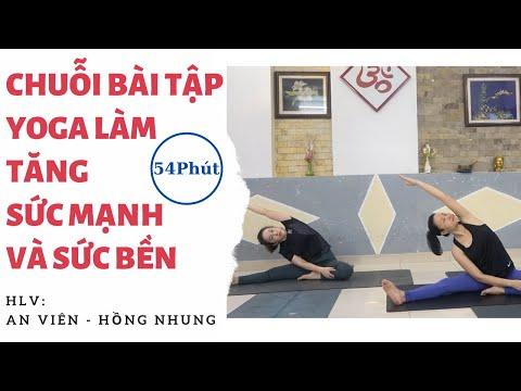 Chuỗi Bài Tập Yoga Tăng Sức Mạnh và Sức Bền - Yoga An Viên