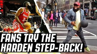 REGULAR PEOPLE TRY THE JAMES HARDEN STEP-BACK