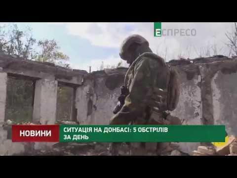 Ситуація на Донбасі: