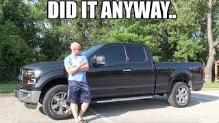 They said this NEW mod would make my truck UGLIER.. (They were wrong)