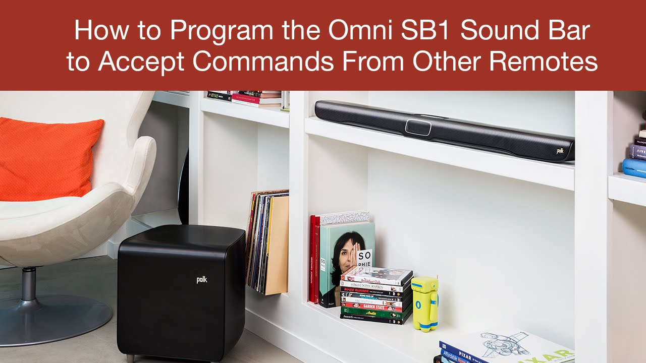 How To Program The Sb1 Sound Bar Accept Commands From Other Dish Tv Wiring Diagram Remotes