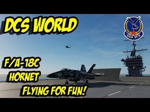 DCS: F/A-18C Hornet, Fun Flight
