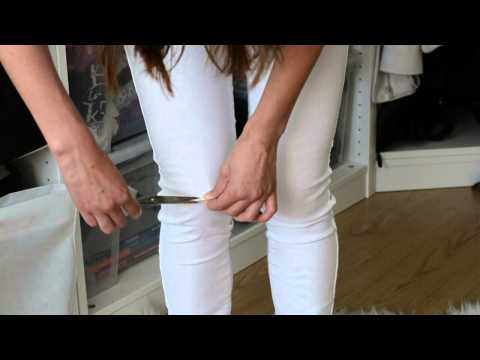 DIY + How We Style - Ripped Jeans