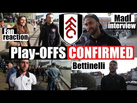 Fulham 1 Brentford 1   Play-Offs confirmed   Fulham FC
