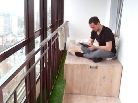 Необычные балконы: как превратить лоджию в полноценную комнату?
