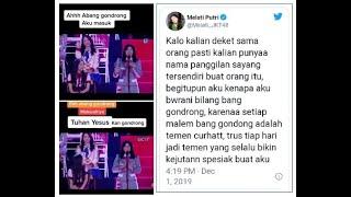 Kala Tuhan Yesus disebut Abang Gondrong oleh Melati Putri JKT48